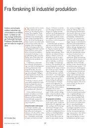 Fra forskning til industriel produktion - Viden (JP)