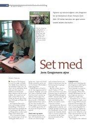 Jens Gregersens øjne - Viden (JP) - Jyllands-Posten