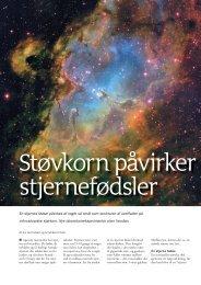 En stjernes fødsel påvirkes af noget så småt som ... - Viden (JP)