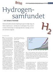 Hydrogensamfundet - en renere fremtid - Viden (JP)