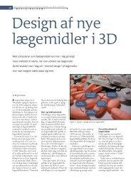 Design af nye lægemidler i 3D - Viden (JP)