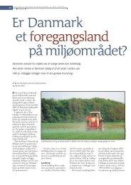 Er Danmark et foregangsland på miljøområdet? - Viden (JP)