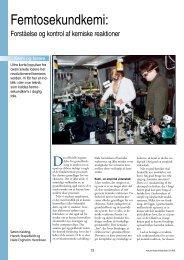 forståelse og kontrol af kemiske reaktioner - Viden (JP)