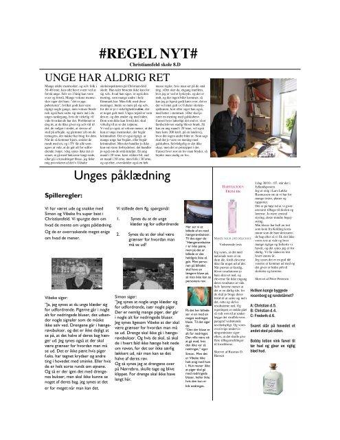 REGEL NYT - Viden (JP)