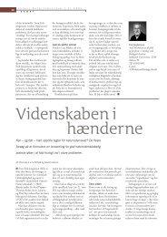 Videnskaben i hænderne - Viden (JP)