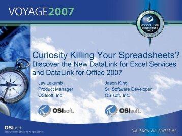 DataLink - OSIsoft
