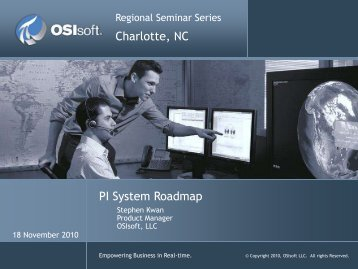 PI Notifications 2010 - OSIsoft