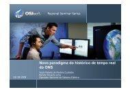 Novo paradigma do histórico de tempo real do ONS do ONS - OSIsoft