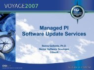 Managed PI Software Update Services - OSIsoft
