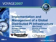 Management of a Global Distributed PI Infrastructure - OSIsoft