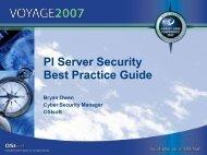 PI Server Security Best Practice Guide - OSIsoft