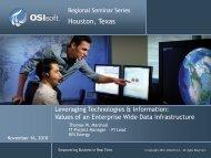 ISA 2010-Enterprise Infrastructure - OSIsoft