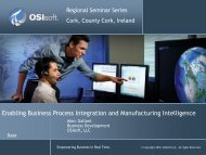 Enabling Business Process Integration and Manufacturing ... - OSIsoft