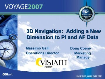 Introduction to Visiant Pimsoft - OSIsoft