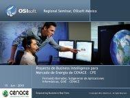 CFE Regional Seminar, OSIsoft México