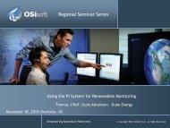 Regional Seminar Series - OSIsoft