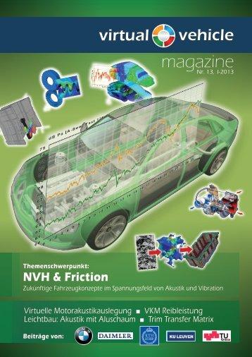 NVH & Friction - Virtual Vehicle