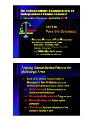 Freelance Graphics - AAPM Independent Exam Solutions 2004.PRZ