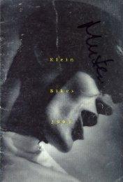 1993 Klein - Vintage Trek