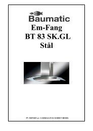 Em-Fang BT 83 SK.GL Stål - VM Elektro