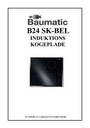 B 24 SK-BEL Induktion - VM Elektro