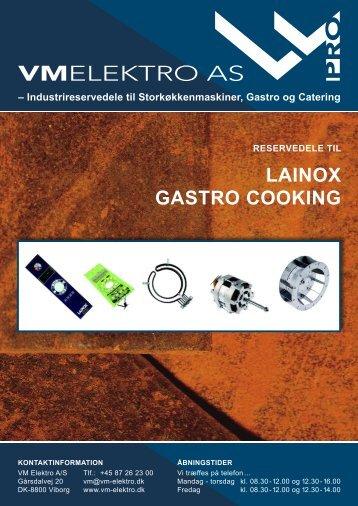 LAINOX GASTRO COOKING - VM Elektro