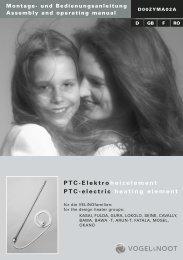 PTC-Elektro heizelement PTC-electric heating element