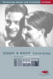 VOGEL & NOOT LaserLine Standard