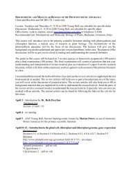 Spring 2001 MCDB 170 Syllabus - Virtual Office Hour - UCLA