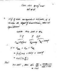 Homework #5 - Key