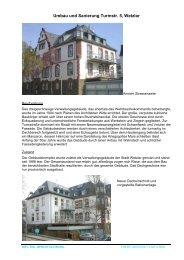 Umbau und Sanierung Turmstr. 5, Wetzlar - Architekt-Buexel.de