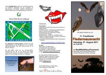 Wir laden herzlich ein zum - Staatliche Vogelschutzwarte für Hessen ...