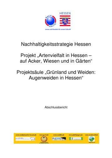Grünland und Weiden: Augenweiden in Hessen - Staatliche ...
