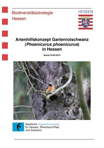 Gartenrotschwanz Stand 06-2013 - Staatliche Vogelschutzwarte für ...
