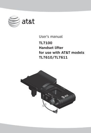 at&t dect 6.0 manual cl82209
