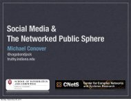 Social Media & The Networked Public Sphere - VW - Indiana ...