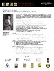 MEDIA KIT 2012 - Vineyard & Winery Management Magazine