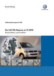SSP 455 Die 2,0l-TDI-Motoren im T5 2010 - Volkswagen Information