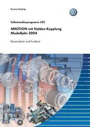 SSP333 - 4MOTION mit Haldex-Kupplung Modelljahr 2004