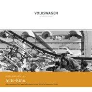 Auto-Kino. - VW Media Services