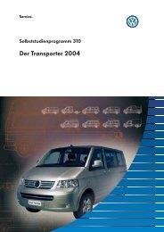 Selbststudienprogramm 310 - Volkswagen Information