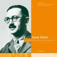 Historische Notate 8: Ivan Hirst