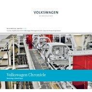 HN 7: Volkswagen Chronicle