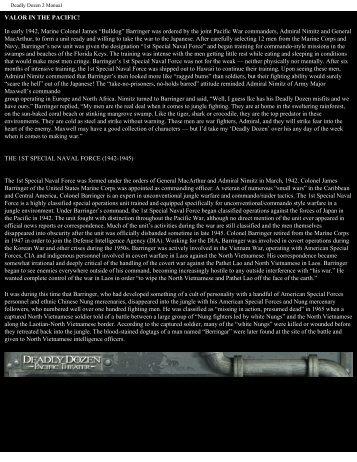 Deadly Dozen 2 Manual - Exent