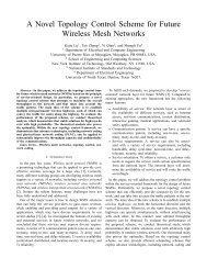 A Novel Topology Control Scheme for Future Wireless Mesh Networks
