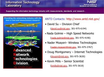 Advanced Network Technologies Division