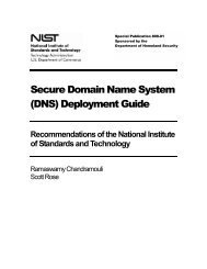 Secure Domain Name System (DNS) Deployment ... - Dns-school.org