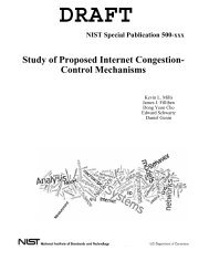 Study of Proposed Internet Congestion- Control Mechanisms