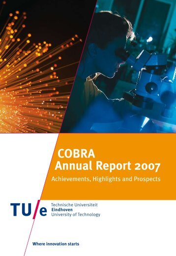 COBRA Annual Report 2007 - Technische Universiteit Eindhoven