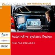 Automotive Systems Design - Technische Universiteit Eindhoven